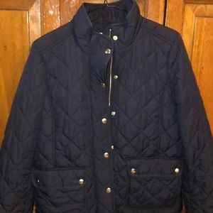 J. Crew Quilted Field Jacket